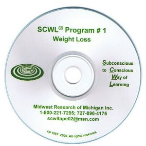 Weight Loss Subliminal CD Number 1