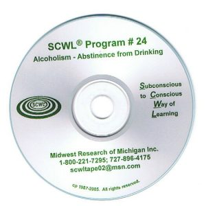 Alcoholism – Abstinence from Drinking SCWL Subliminal CD Number 24